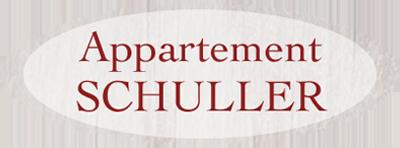 Logo Appartement Schuller in Wagrain
